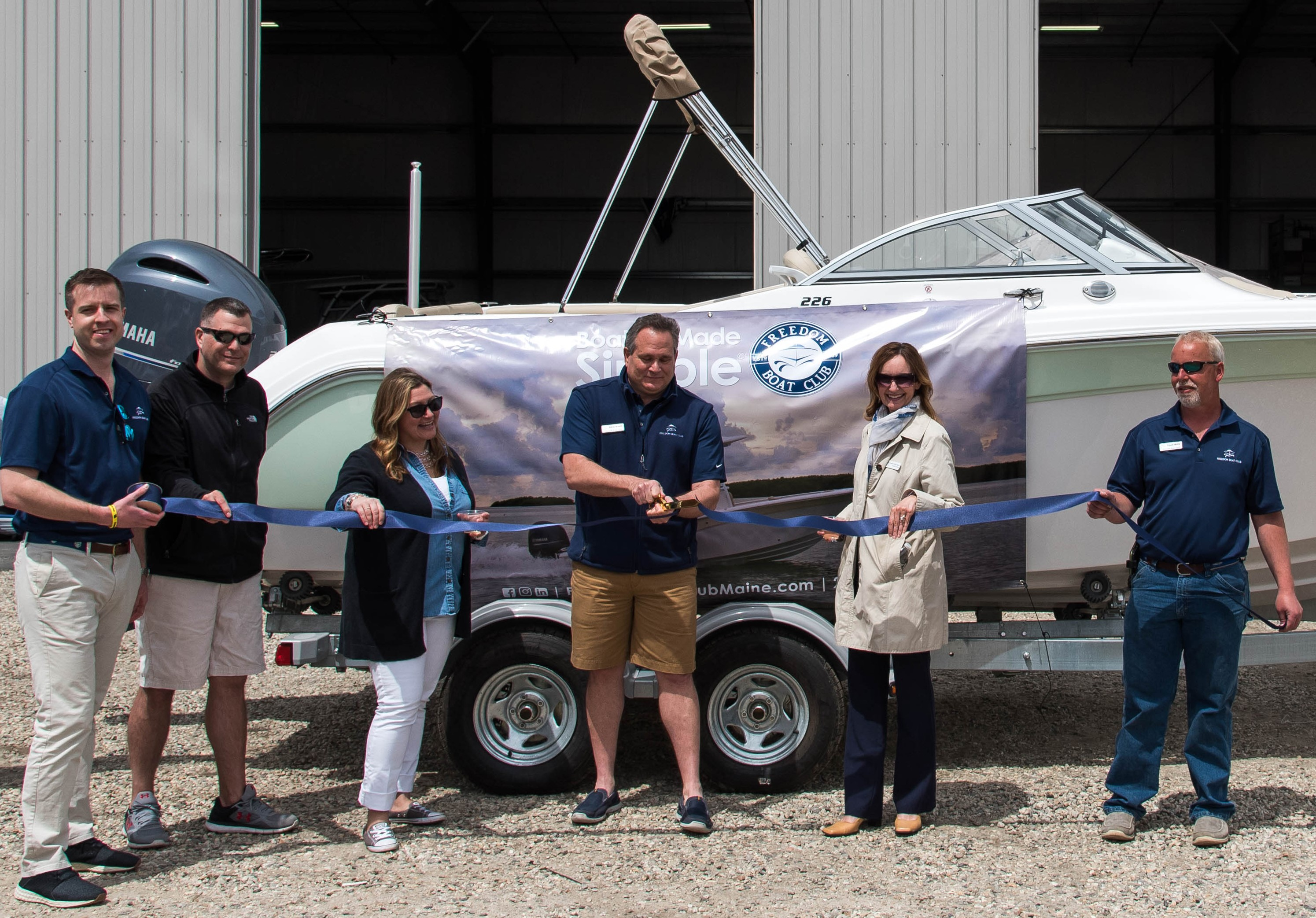 Freedom Boat Club Expands in Maine | Marina Dock Age